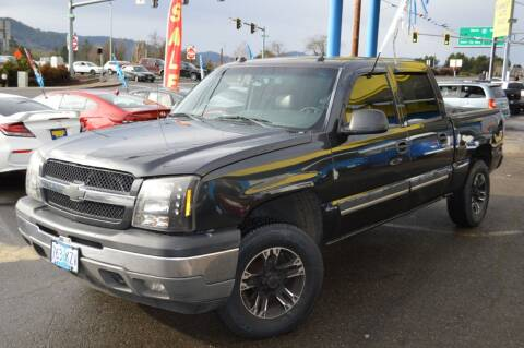 2005 Chevrolet Silverado 1500 for sale at Earnest Auto Sales in Roseburg OR