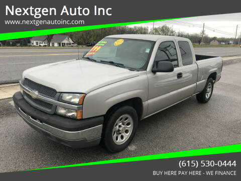 2005 Chevrolet Silverado 1500 for sale at Nextgen Auto Inc in Smithville TN