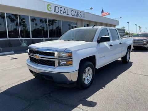 2014 Chevrolet Silverado 1500 for sale at Ideal Cars Broadway in Mesa AZ