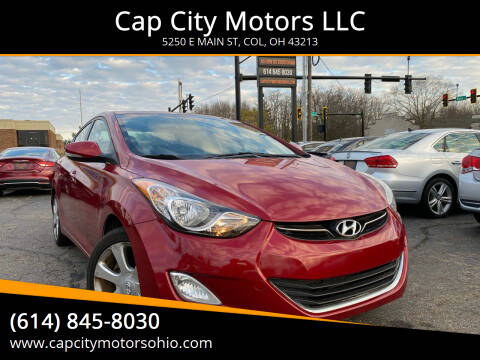 2012 Hyundai Elantra for sale at Cap City Motors LLC in Columbus OH
