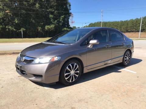 2010 Honda Civic for sale at Dreamers Auto Sales in Statham GA