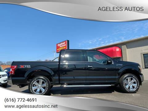 2019 Ford F-150 for sale at Ageless Autos in Zeeland MI