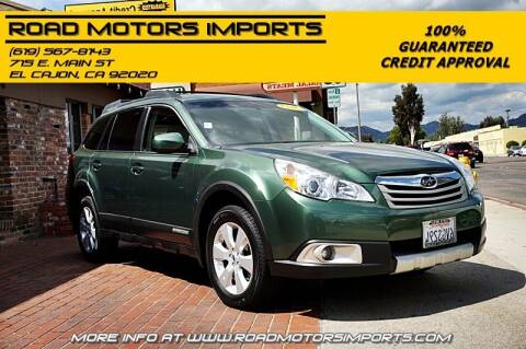 2012 Subaru Outback for sale at Road Motors Imports in El Cajon CA