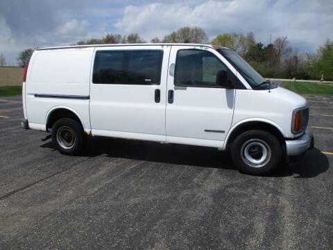 2002 GMC Savana Cargo for sale at Crossroads Used Cars Inc. in Tremont IL