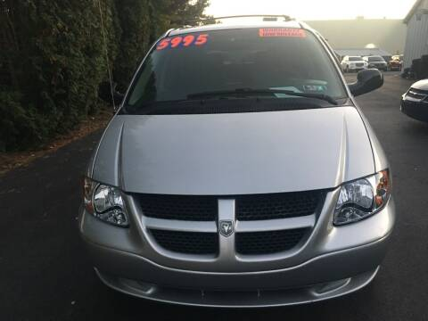 2007 Dodge Caravan for sale at BIRD'S AUTOMOTIVE & CUSTOMS in Ephrata PA