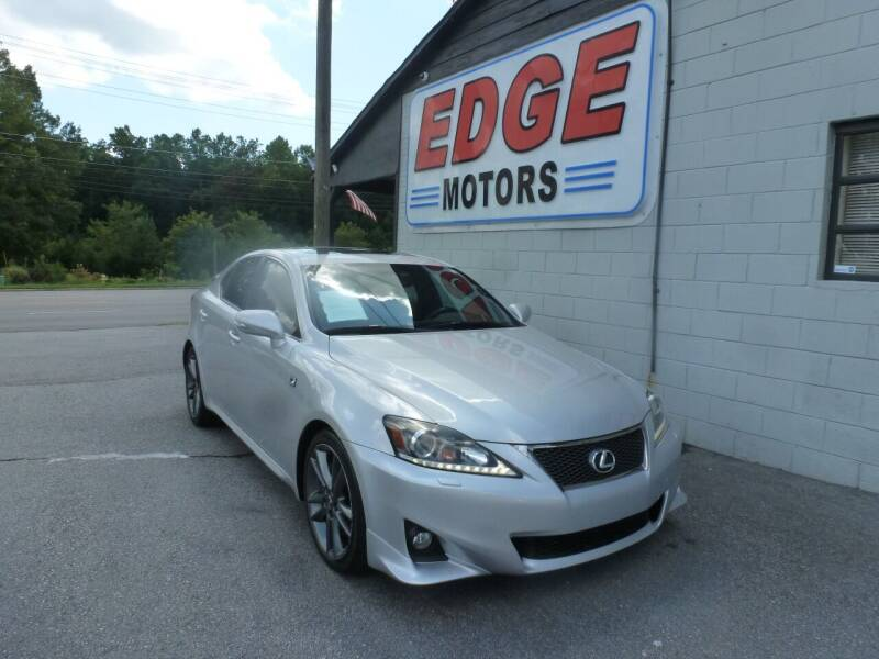 2011 Lexus IS 350 for sale at Edge Motors in Mooresville NC