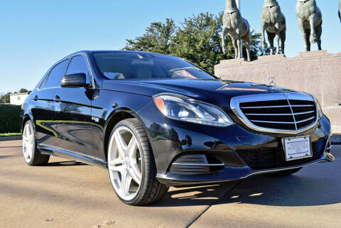 2014 Mercedes-Benz E-Class for sale at European Motor Cars LTD in Fort Worth TX