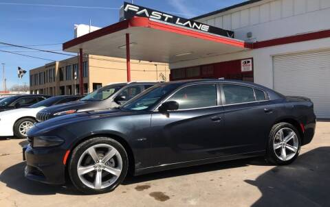 2018 Dodge Charger for sale at FAST LANE AUTO SALES in San Antonio TX