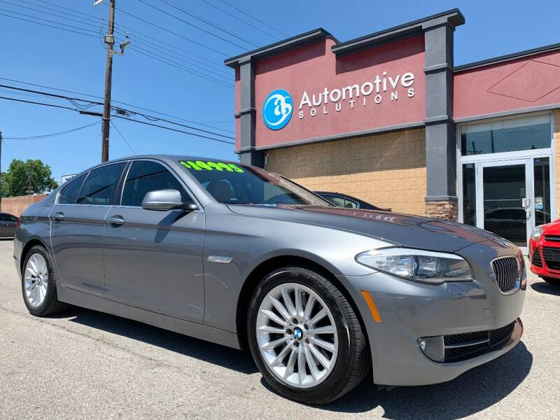 2013 BMW 5 Series for sale at Automotive Solutions in Louisville KY
