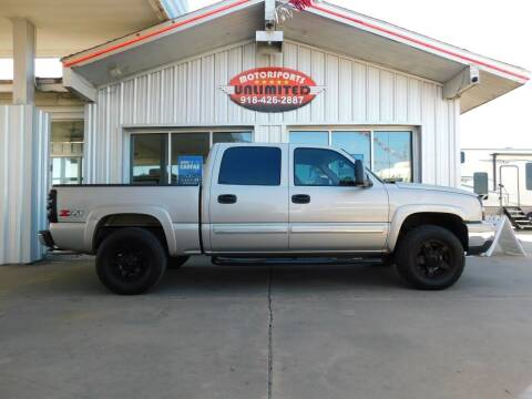 2007 Chevrolet Silverado 1500 Classic for sale at Motorsports Unlimited in McAlester OK