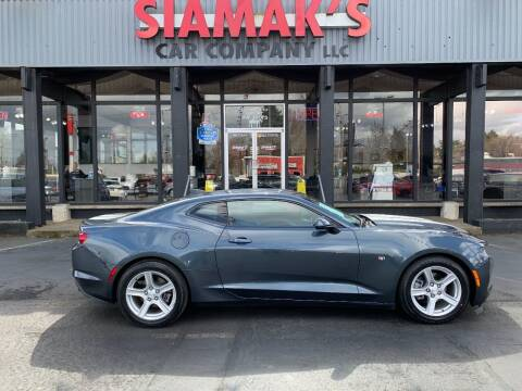 2021 Chevrolet Camaro for sale at Siamak's Car Company llc in Salem OR