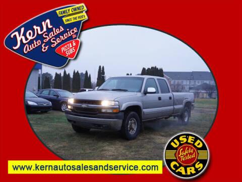 2002 Chevrolet Silverado 2500HD for sale at Kern Auto Sales & Service LLC in Chelsea MI