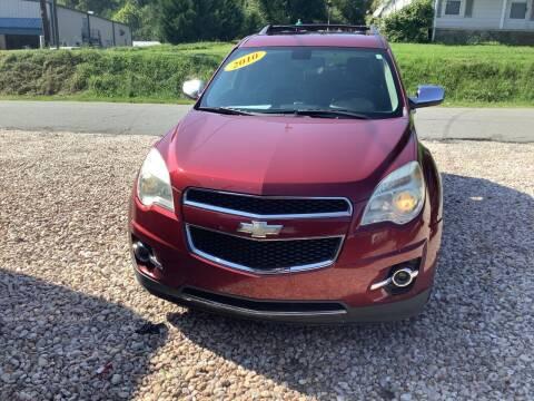 2010 Chevrolet Equinox for sale at Moose Motors in Morganton NC