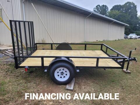 2021 Utility & Landscape Trailer 76x10 for sale at BP Auto Finders in Durham NC