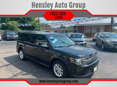 2013 Ford Flex for sale at Hensley Auto Group in Middletown OH