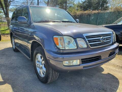 2004 Lexus LX 470 for sale at M & M Auto Brokers in Chantilly VA