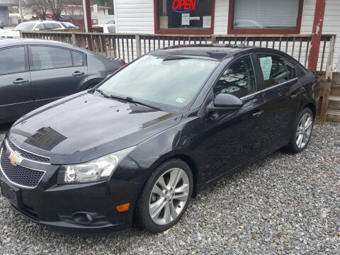 2012 Chevrolet Cruze for sale at Premier Auto Sales Inc. in Newport News VA