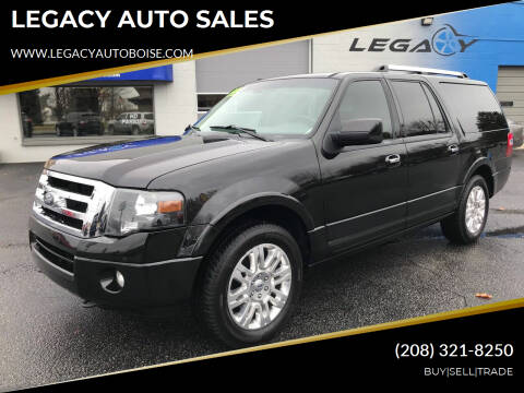 2014 Ford Expedition EL for sale at LEGACY AUTO SALES in Boise ID