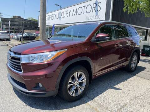 2014 Toyota Highlander for sale at CERTIFIED LUXURY MOTORS OF QUEENS in Elmhurst NY