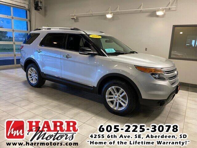 2014 Ford Explorer for sale at Harr Motors Bargain Center in Aberdeen SD