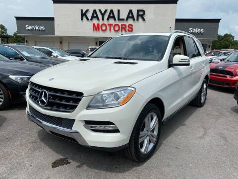 2013 Mercedes-Benz M-Class for sale at KAYALAR MOTORS in Houston TX