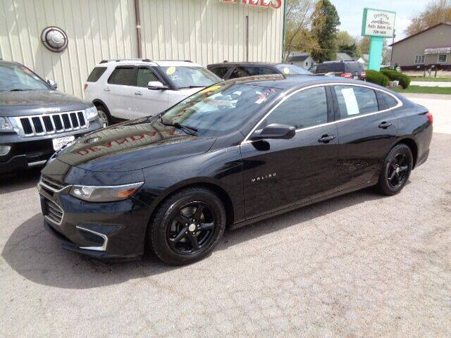 2016 Chevrolet Malibu for sale at De Anda Auto Sales in Storm Lake IA