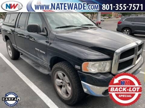 2004 Dodge Ram Pickup 1500 for sale at NATE WADE SUBARU in Salt Lake City UT