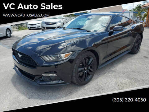 2015 Ford Mustang for sale at VC Auto Sales in Miami FL