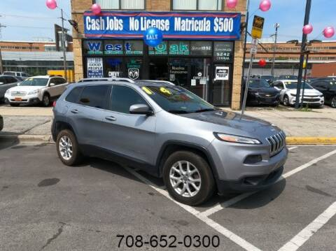 2014 Jeep Cherokee for sale at West Oak in Chicago IL