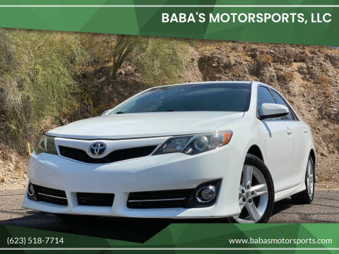 2012 Toyota Camry for sale at Baba's Motorsports, LLC in Phoenix AZ