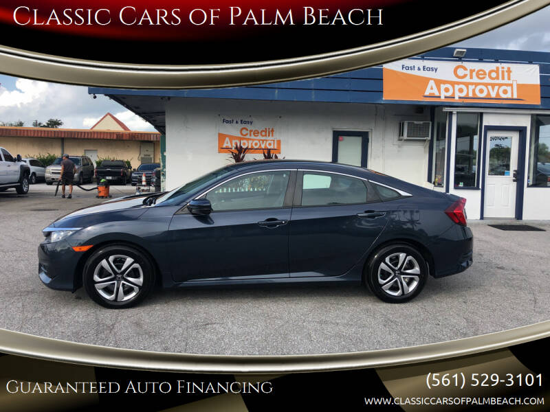 2018 Honda Civic for sale at Classic Cars of Palm Beach in Jupiter FL