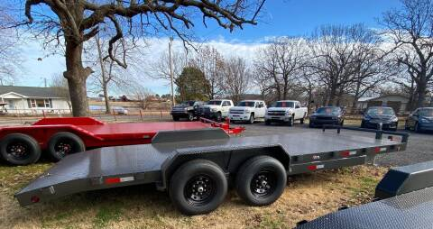 """2021 HD  Trailer 83""""x20' 7K Axles Car Hauler for sale at TINKER MOTOR COMPANY in Indianola OK"""