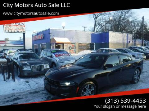 2015 Dodge Charger for sale at City Motors Auto Sale LLC in Redford MI