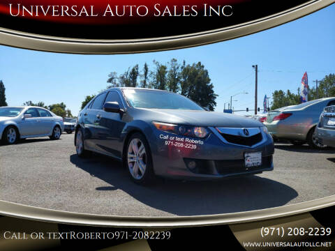 2010 Acura TSX for sale at Universal Auto Sales Inc in Salem OR