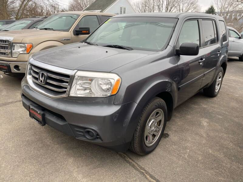 2012 Honda Pilot for sale at Warren Auto Sales in Oxford NY