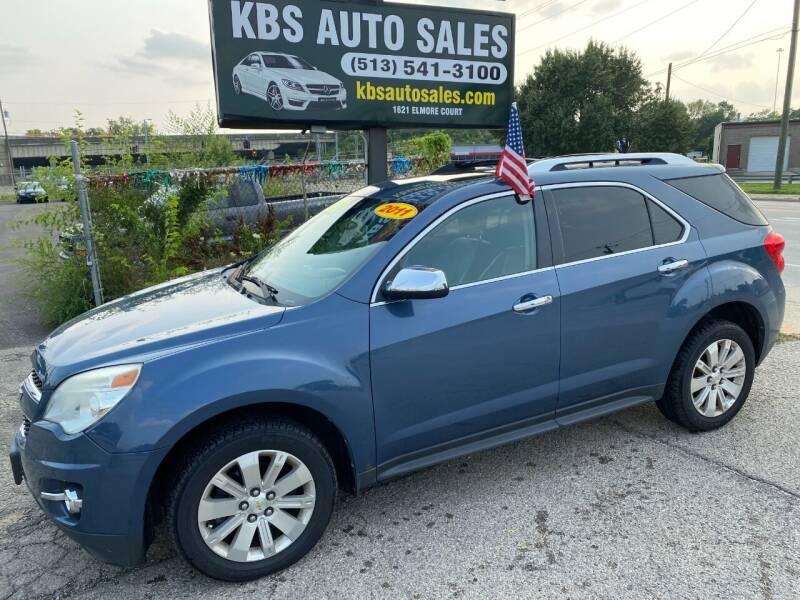 2011 Chevrolet Equinox for sale at KBS Auto Sales in Cincinnati OH