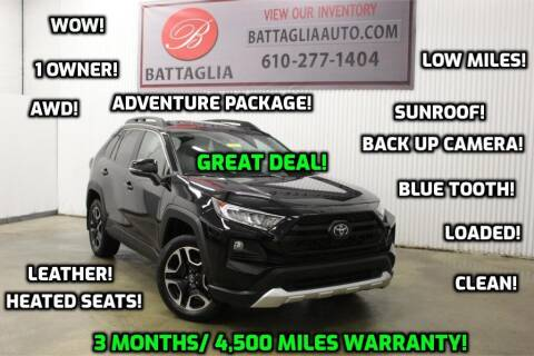2019 Toyota RAV4 for sale at Battaglia Auto Sales in Plymouth Meeting PA