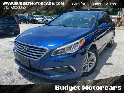 2016 Hyundai Sonata for sale at Budget Motorcars in Tampa FL