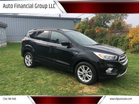 2017 Ford Escape for sale at Auto Financial Group LLC in Flat Rock MI