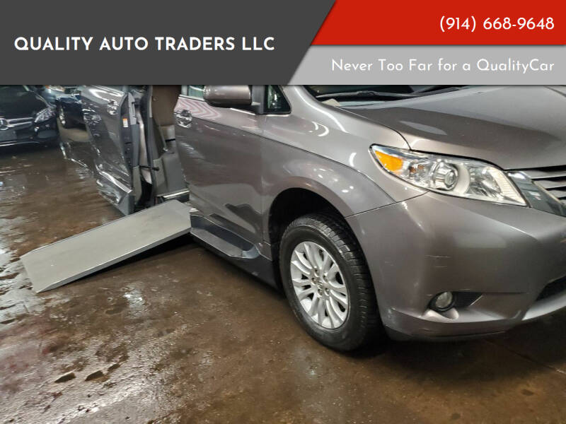 2015 Toyota Sienna for sale at Quality Auto Traders LLC in Mount Vernon NY