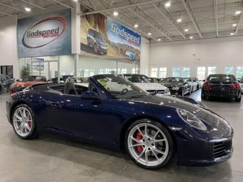 2017 Porsche 911 for sale at Godspeed Motors in Charlotte NC