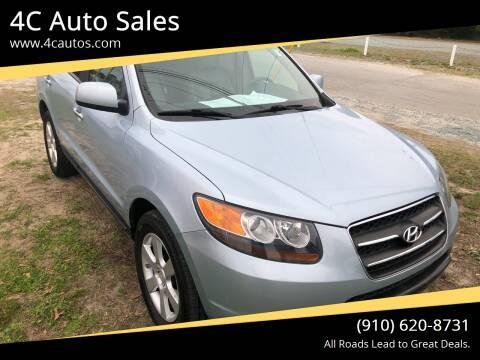 2007 Hyundai Santa Fe for sale at 4C Auto Sales in Wilmington NC