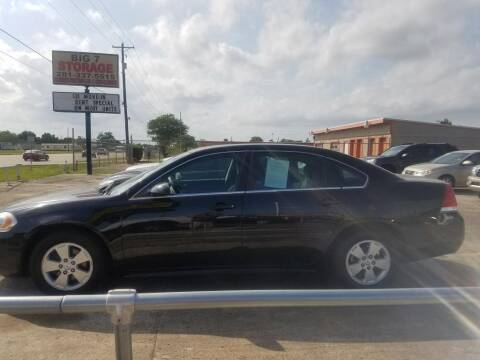 2011 Chevrolet Impala for sale at BIG 7 USED CARS INC in League City TX