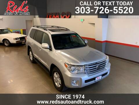 2015 Toyota Land Cruiser for sale at Red's Auto and Truck in Longmont CO
