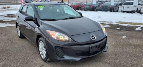 2013 Mazda MAZDA3 for sale at Transmart Autos in Zimmerman MN