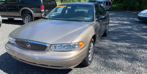 1999 Buick Century for sale at JM Auto Sales in Shenandoah PA