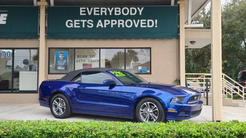 2014 Ford Mustang for sale at Dunn-Rite Auto Group in Longwood FL