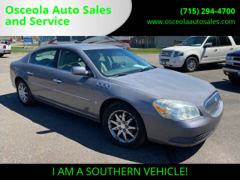 2007 Buick Lucerne for sale at Osceola Auto Sales and Service in Osceola WI