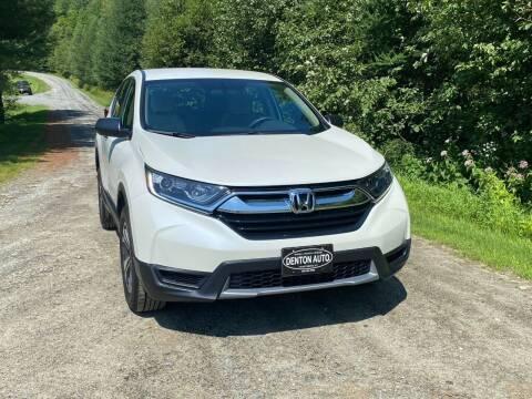 2018 Honda CR-V for sale at Denton Auto Inc in Craftsbury VT