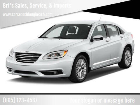 2011 Chrysler 200 for sale at Bri's Sales, Service, & Imports in Long Beach CA